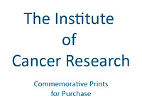 The Institute of Cancer Research COMMEMORATIVE