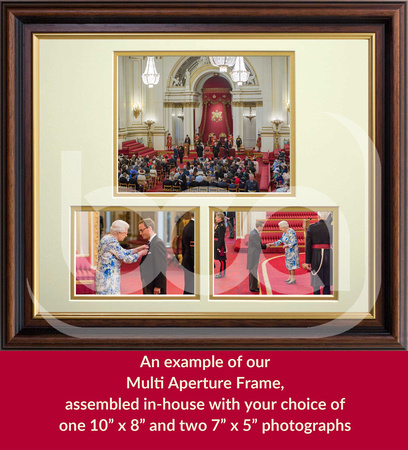 Example of our Multi Aperture Frame